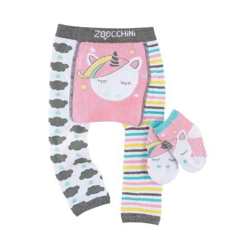 Leggin+Calcetines Unicornio 6-12 meses