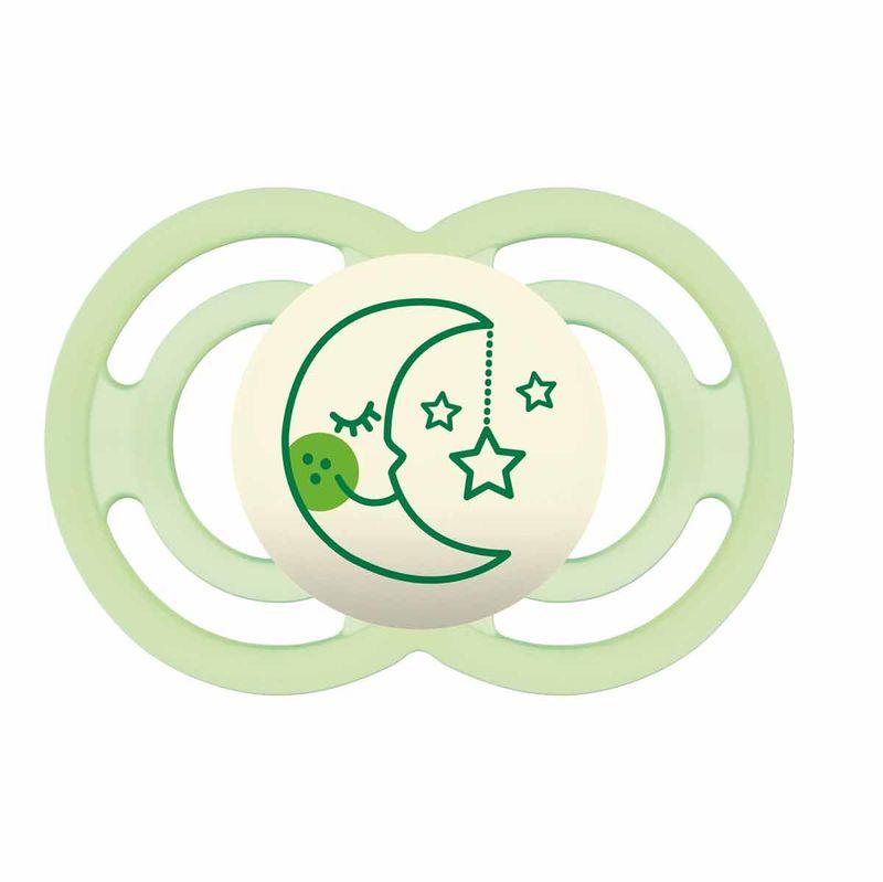 Chupete-Perfect-Nit-Silicona-6-16M-Verde