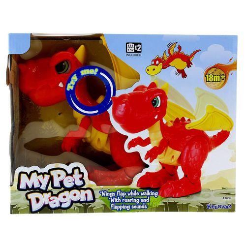 Dragón Infantil con Sonido y Movimiento