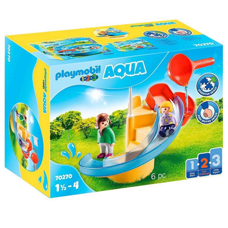 Playmobil-123-Aqua-Tobogan-Acuatico