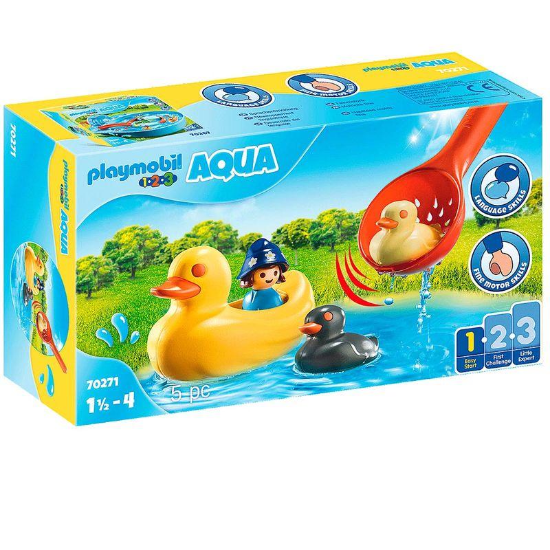 Playmobil-123-Aqua-Familia-de-Patos