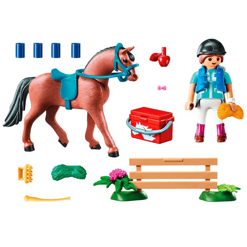 Playmobil-Country-Set-Granja-Caballos_1