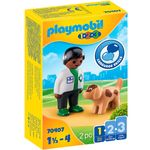 Playmobil-123-Veterinario-con-Perro