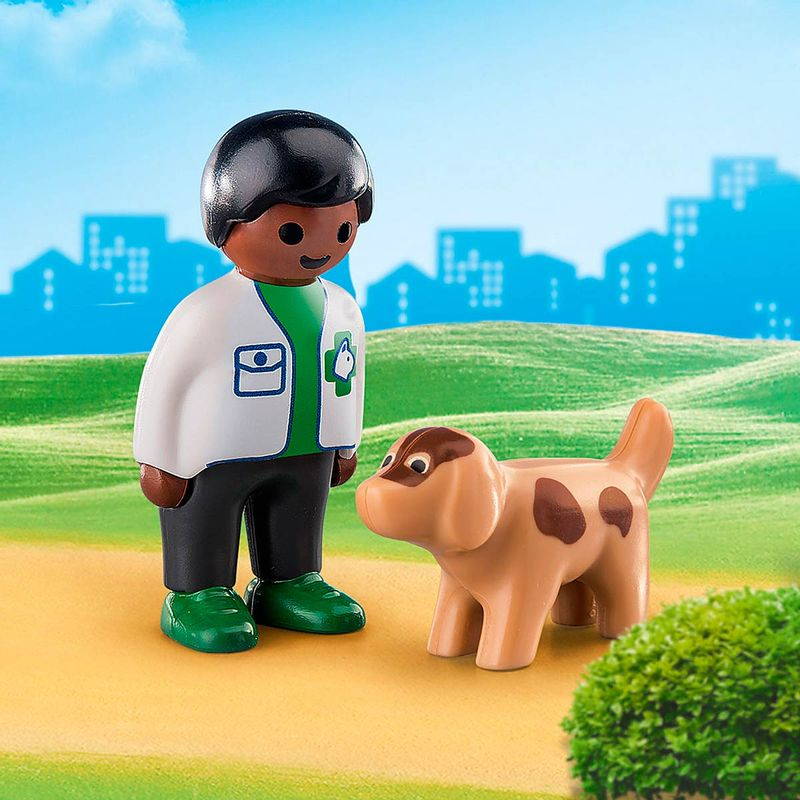 Playmobil-123-Veterinario-con-Perro_1