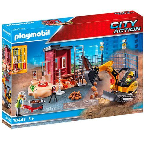Playmobil City Action Mini Excavadora