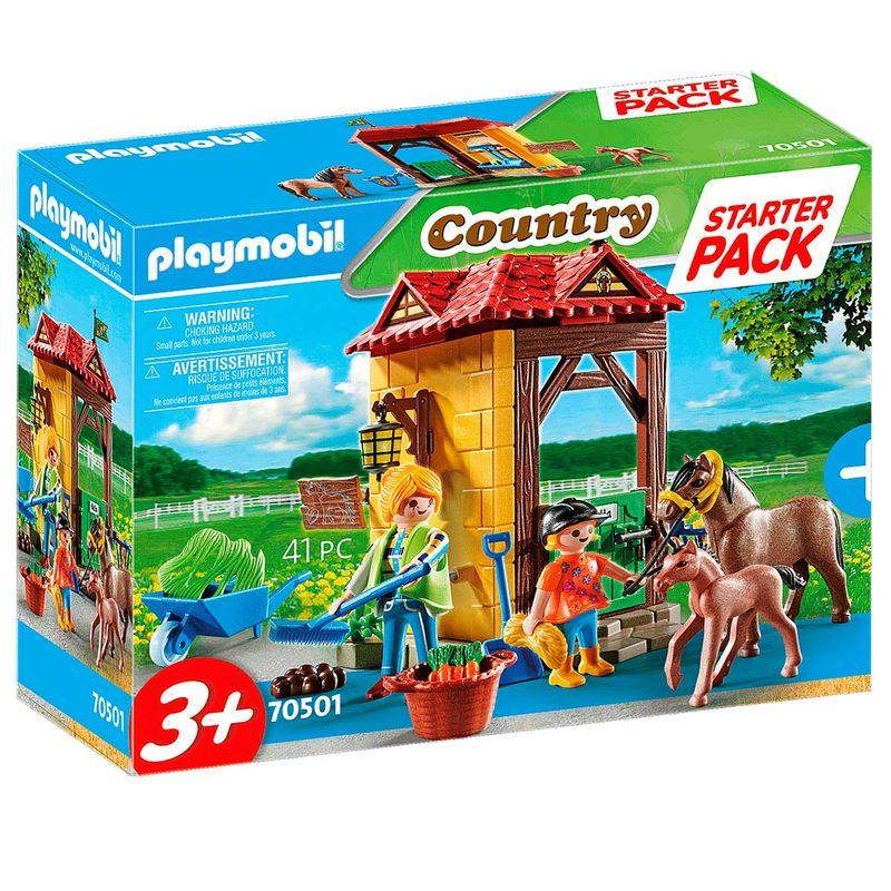 Playmobil-Starter-Pack-Granja-de-Caballos