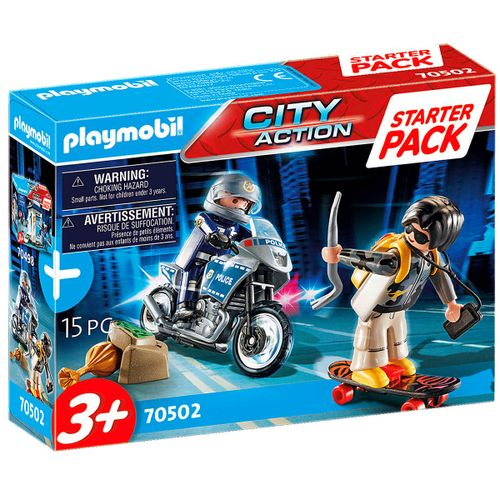 Playmobil Starter Pack Policía Set Adicional