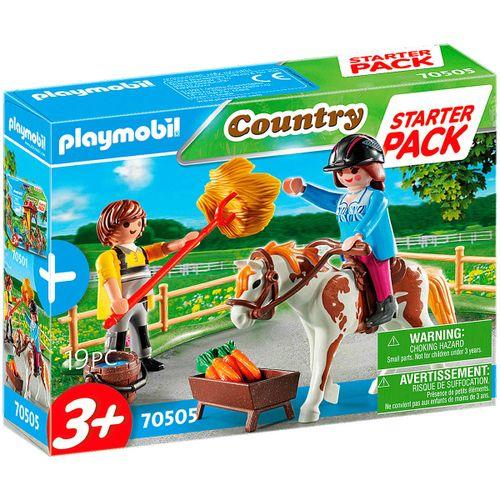 Playmobil Starter Pack Granja Caballos Adicional