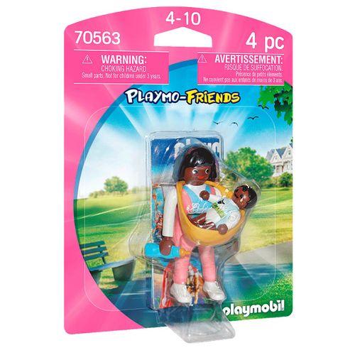Playmobil Playmo-Friends Mamá con Portabebés