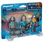 Playmobil-Novelmore-Set-de-3-Caballeros
