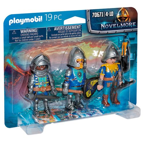 Playmobil Novelmore Set de 3 Caballeros