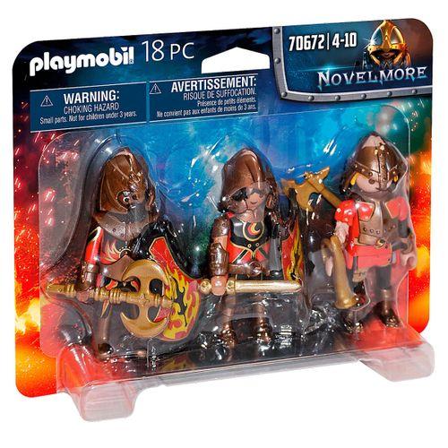 Playmobil Novelmore Set de 3 Bandidos de Burnham