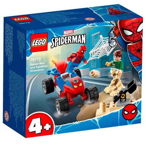 Lego Heroes Spiderman vs Sandman
