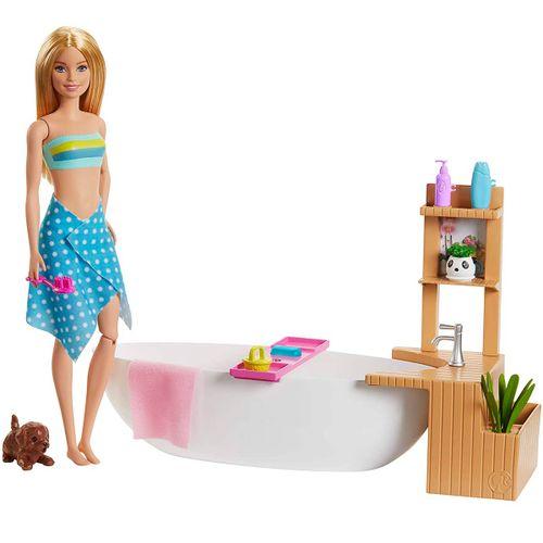 Barbie y su Baño de Burbujas