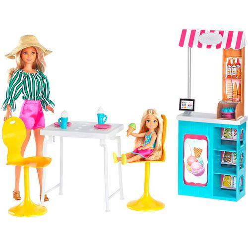 Barbie y su Heladería con Muñeca