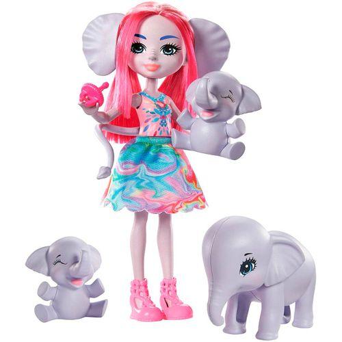 Enchantimals Esmeralda Elephant & sus Amigos