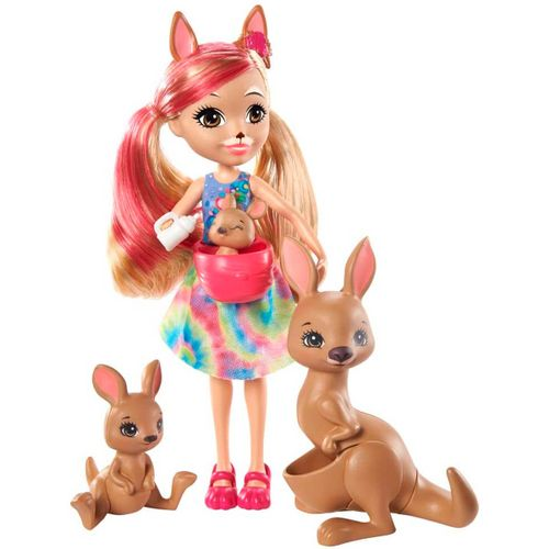 Enchantimals Kamilla Kangaroo & sus Amigos