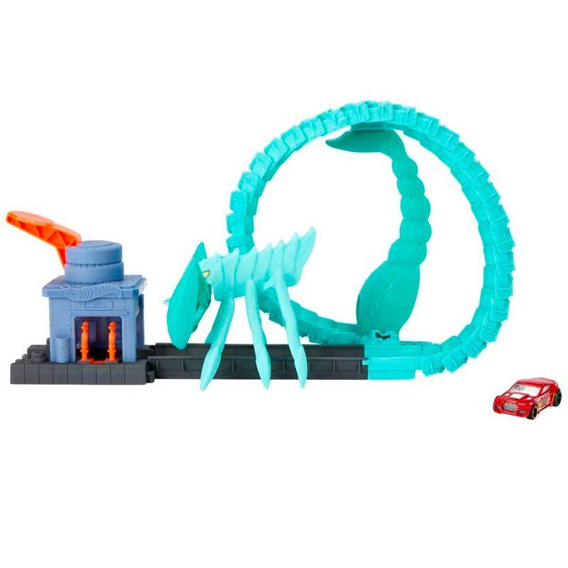 Hot-Wheels-Pista-Ataque-Toxico-del-Escorpion
