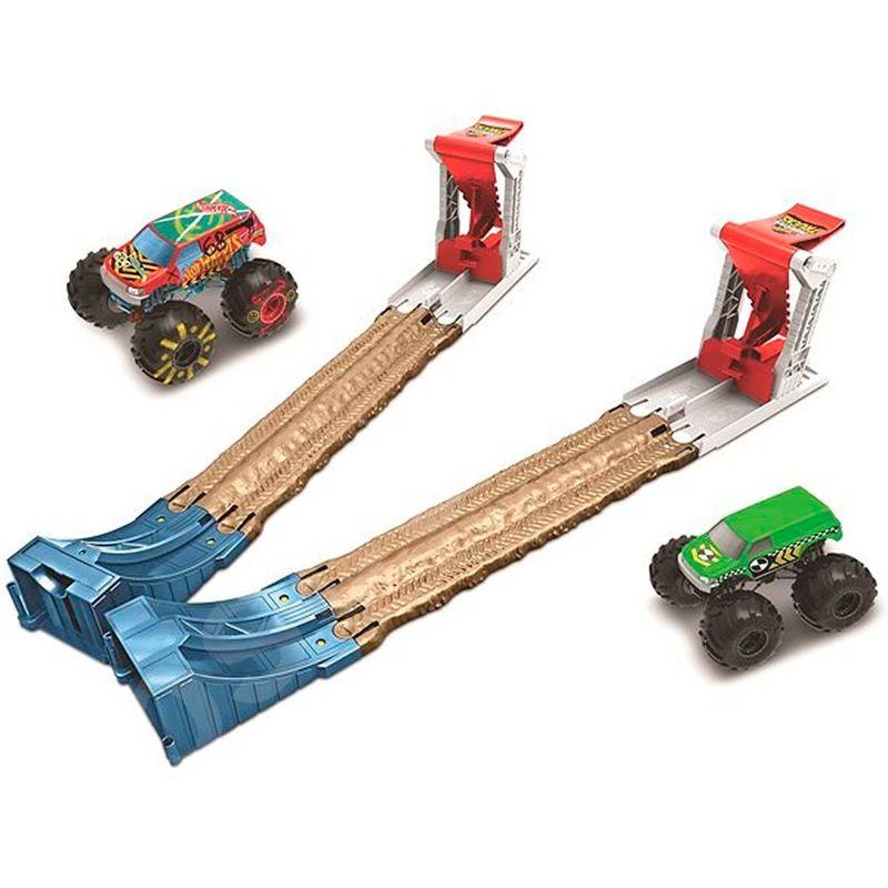 Hot-Wheels-Monster-Truck-Pista-Doble-Destruccion
