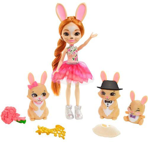 Enchantimals Royals Brystal Bunny & Familia