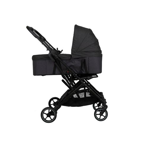Gemelar Tour Twin + 2 capazos Black