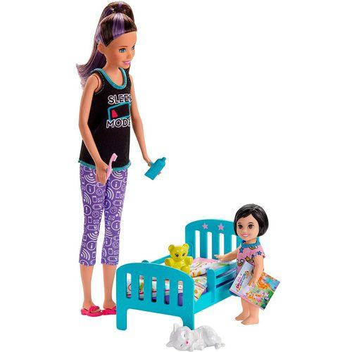 Barbie Skipper Canguro Hora de Dormir