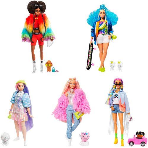 Barbie Fashionista Extra Surtida