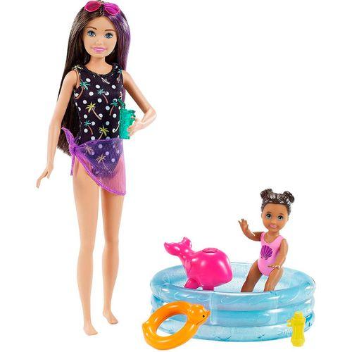 Barbie Skipper Canguro Piscina