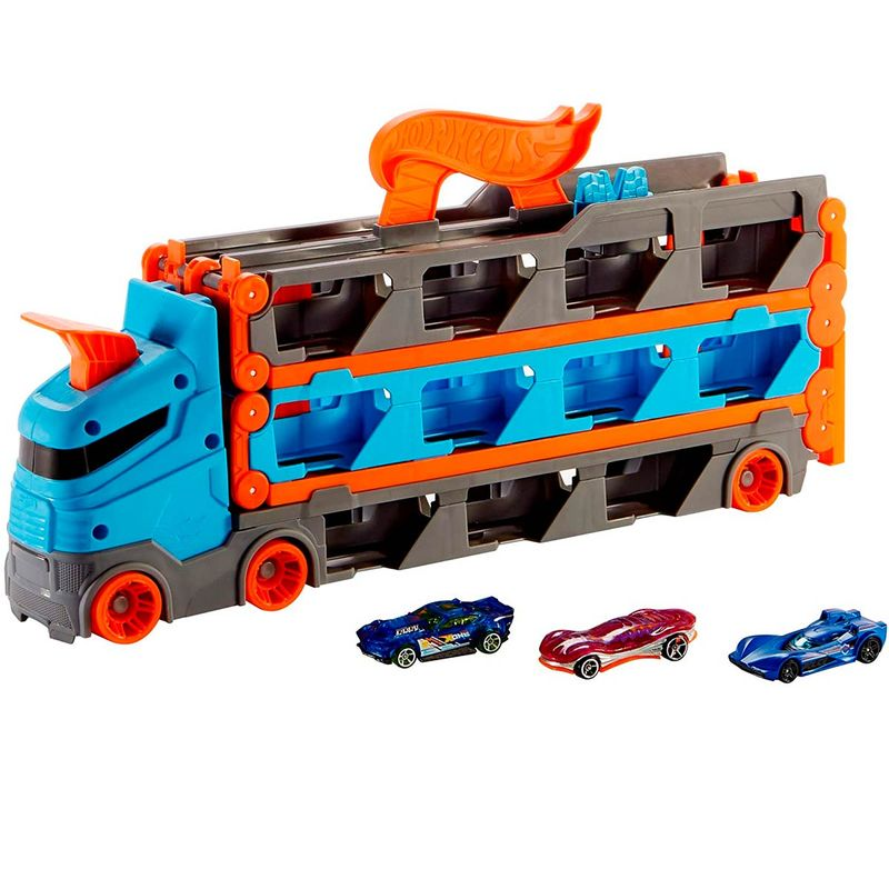Hot-Wheels-Speedway-Hauler-Camion-Convertible