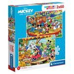 Puzzle-Mickey---Friends-2x60-Piezas