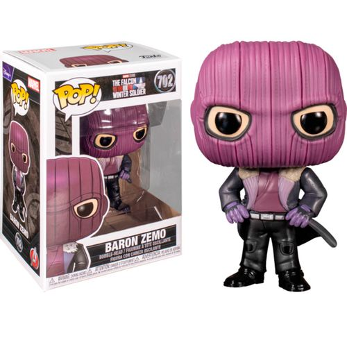 Funko POP TFAWS Baron Zemo