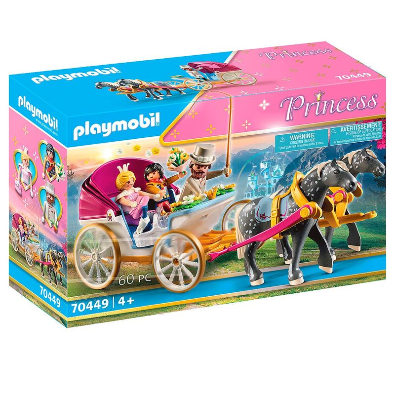 Playmobil-Princess-Carruaje-Romantico-Caballos