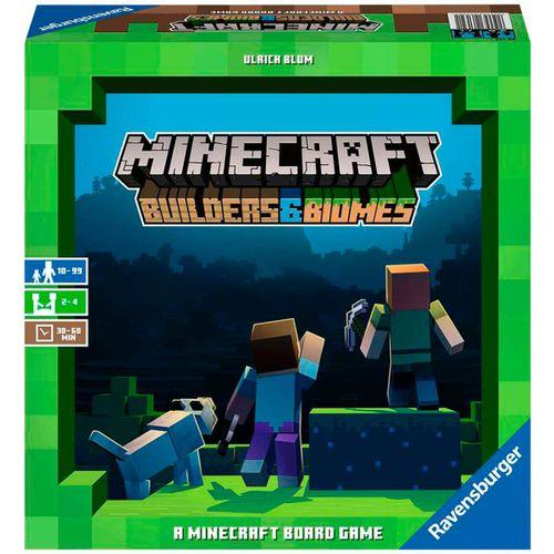 Minecraft Builders & Biomes Juego de Mesa