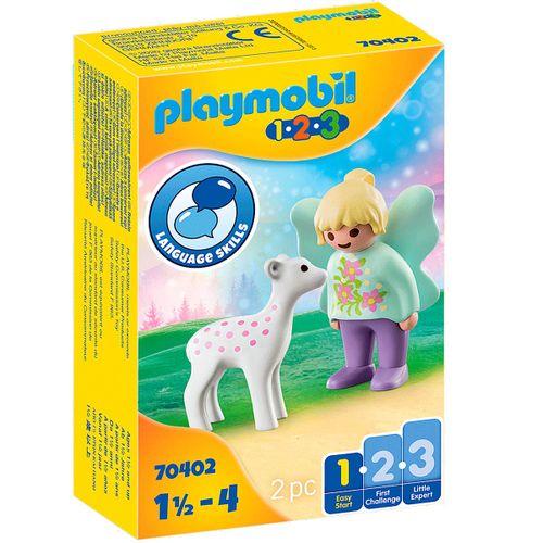 Playmobil 1.2.3 Hada con Cervatillo