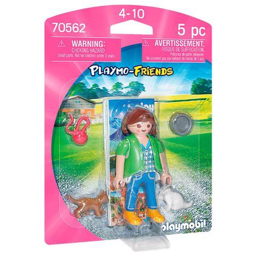 Playmobil Playmo-Friends Mujer con Gatitos