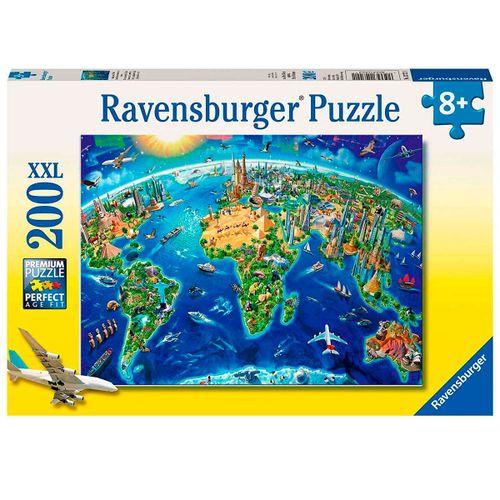 Puzzle Mundo a la Vista 200 Piezas
