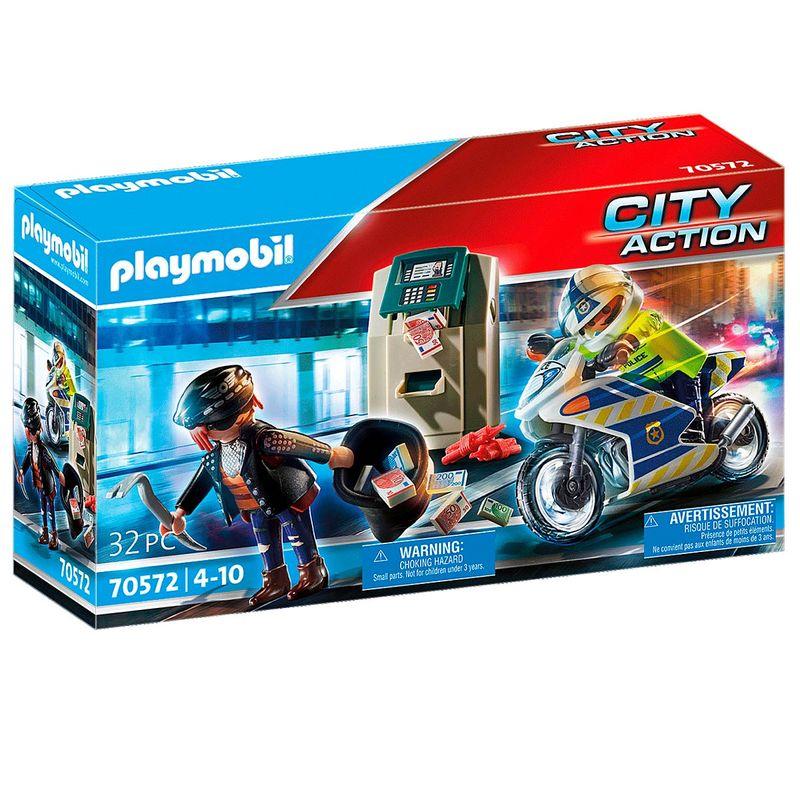 Playmobil-City-Action-Policia-Persecucion-Ladron