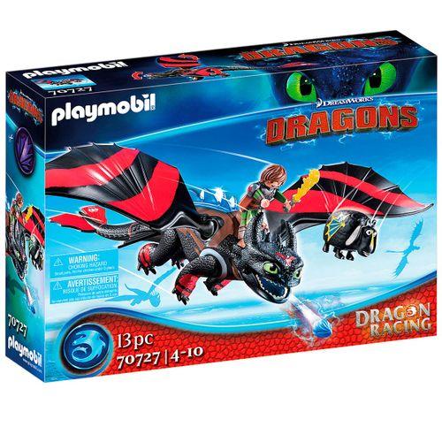 Playmobil Dragon Racing: Hipo y Desdentao