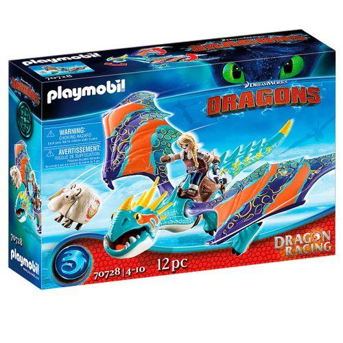 Playmobil Dragon Racing: Astrid y Tormenta