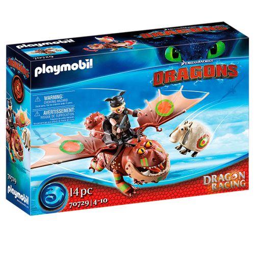Playmobil Dragon Racing: Barrilete y Patapez