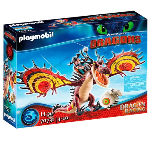 Playmobil Dragon Racing: Garfios y Patán Mocoso
