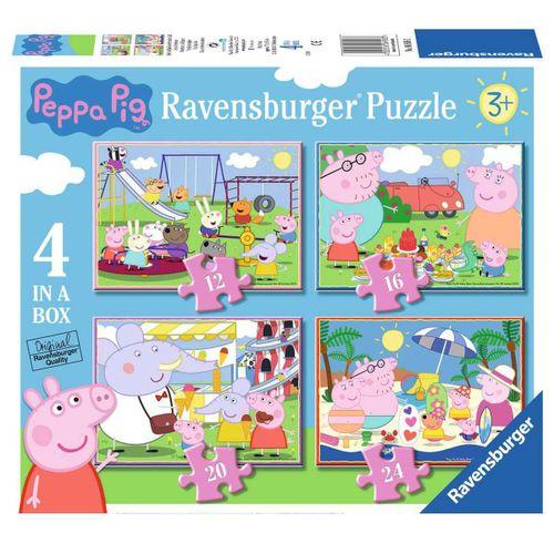 Peppa Pig Puzzle 4 en 1