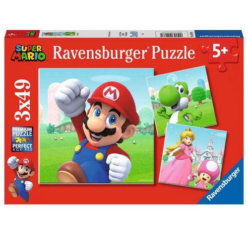 Super Mario Puzzle 3x49 Piezas