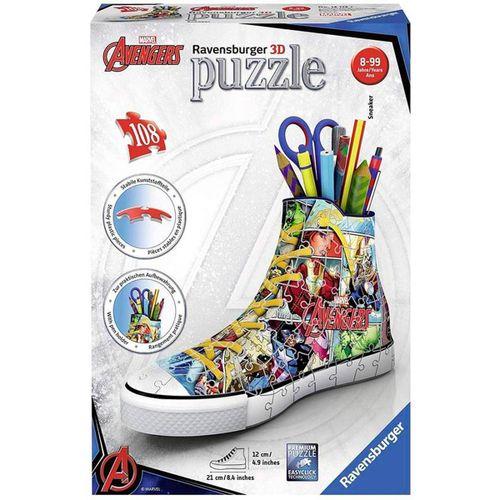 Los Vengadores Zapatilla Puzzle 3D