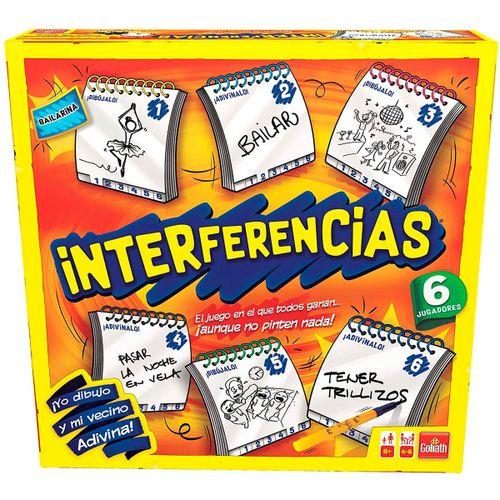 Interferencias 6 Jugadores Juego de Mesa