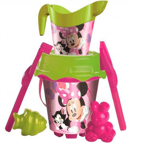 Minnie Mouse Conjunto de Playa + Regadera