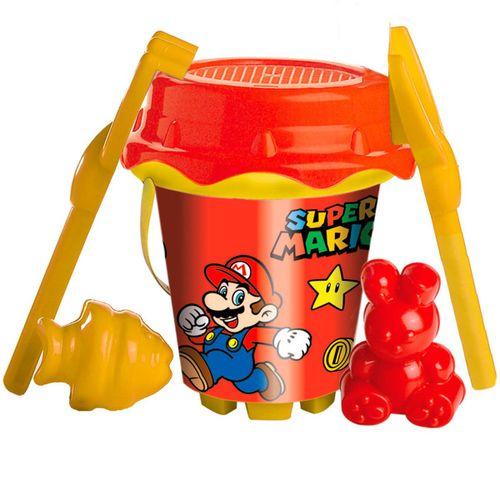 Super Mario Conjunto Playa Cubo + Moldes