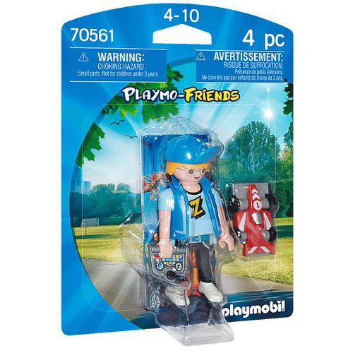 Playmobil Playmo-Friends Adolescente con coche R/C