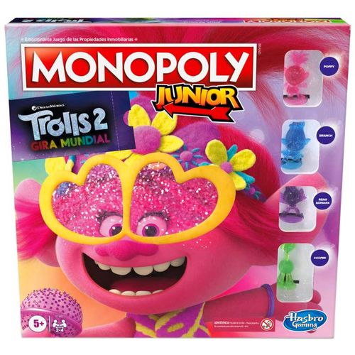 Trolls 2 Monopoly Junior