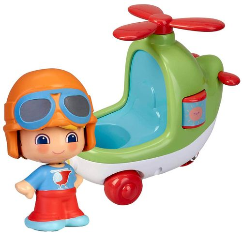 My First Pinypon Happy Vehicles Helicóptero